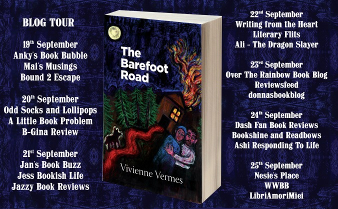 The Barefoot Road Full Tour Banner