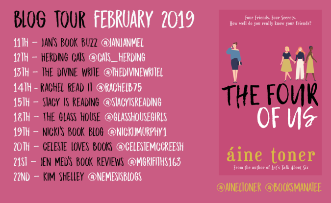 Four of All Blog Tour Amended 2