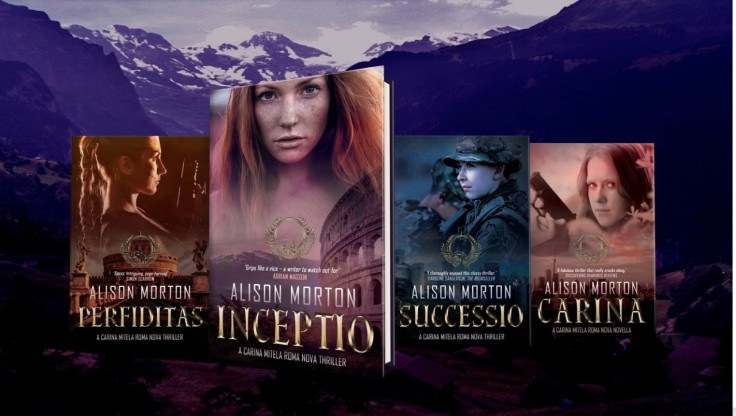 Roma Novel Series Graphic
