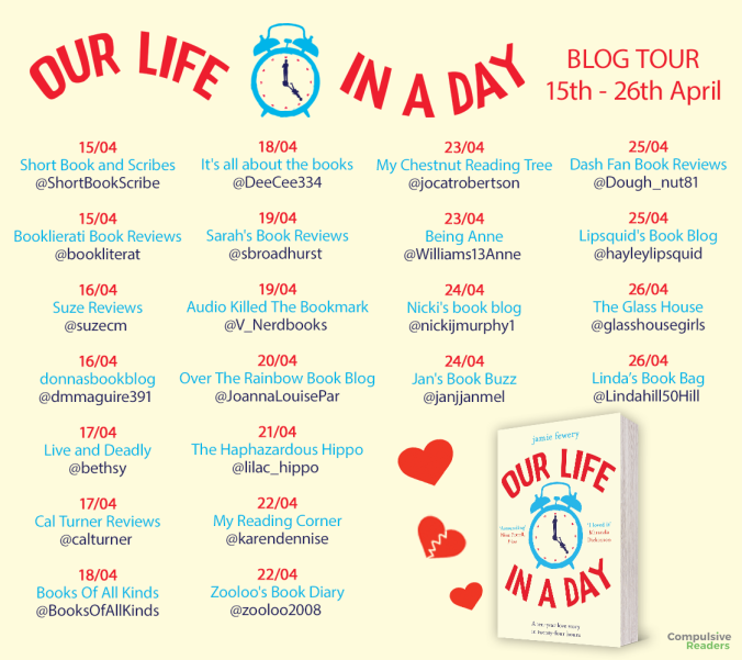 Our Life in a Day blog tour UPDATED