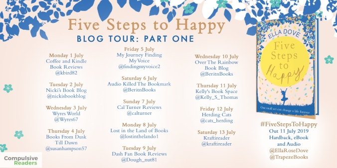 Five Steps to Happy HB blog tour
