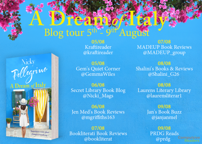 A Dream of Italy blog tour