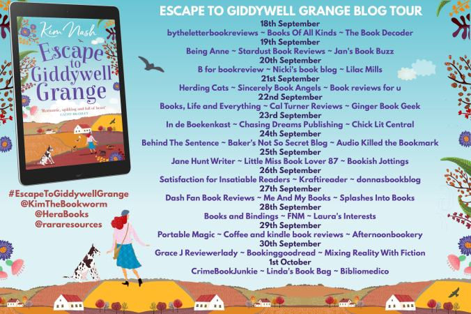 Escape to Giddywell Grange Full Tour Banner