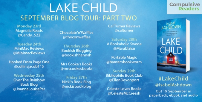 Lake Child Blog Tour Part 2
