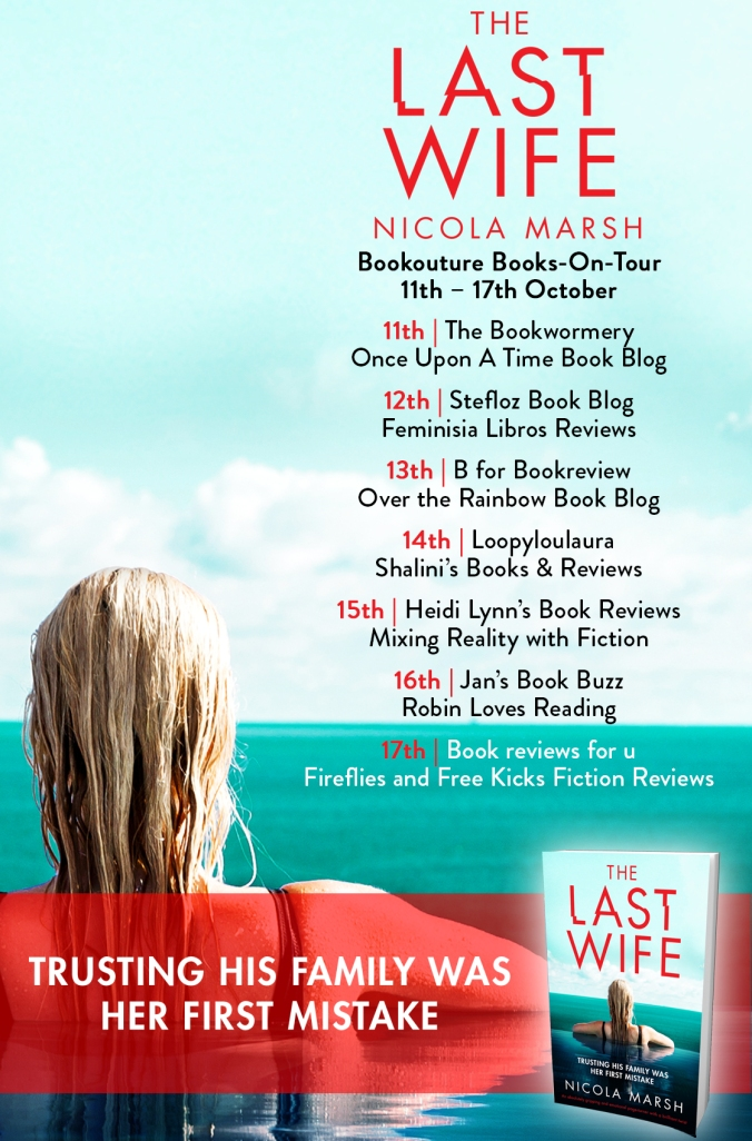 The Last Wife Blog Tour Poster