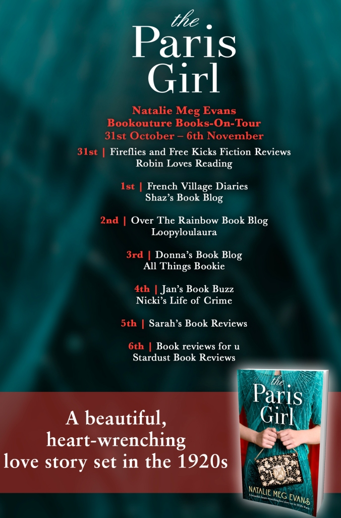 The Paris Girl - Blog Tour Poster (1)