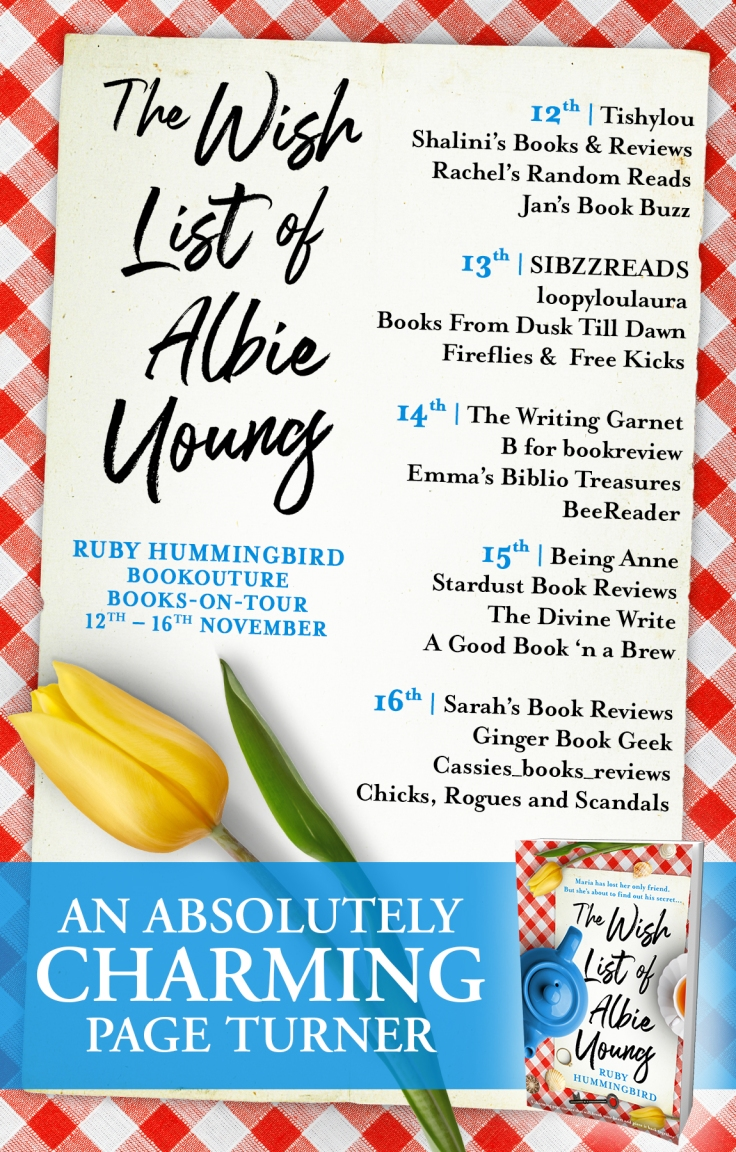 The Wishlist of Albie Young - Blog Tour