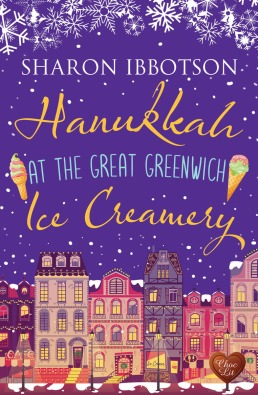 Hanukkah at the Great Greenwich Ice Creamery by Sharon Ibbotson (1)