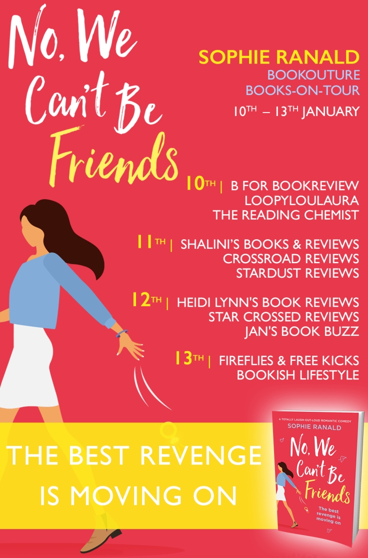 No, We Can't Be Friends - Blog Tour (1)