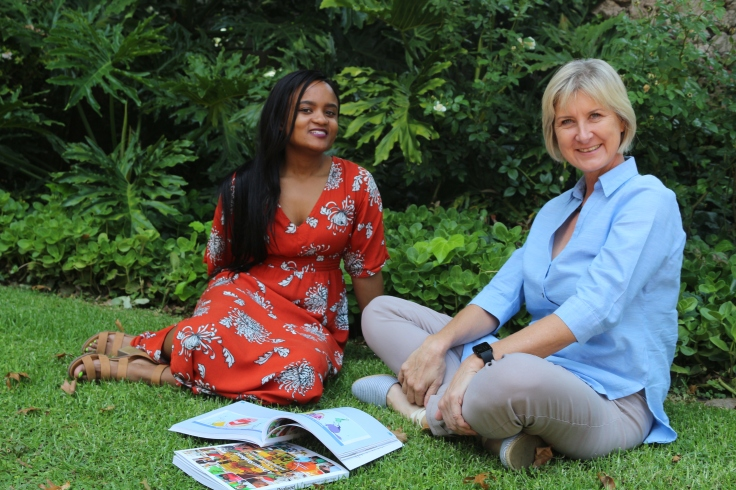 Zanele Chakela & Ulrika Hill authors of A Dream Realised. Pic by Grant Bushby