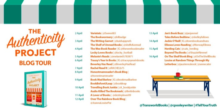 Authenticity Project Blog Tour Poster