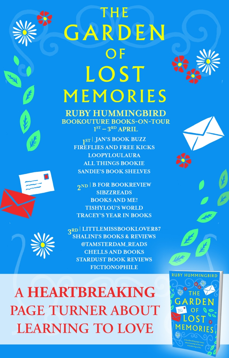 The Garden of Lost Memories - Blog Tour (1)