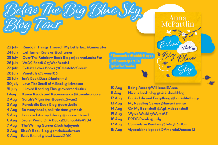 Anna McPartlin July Blogtour