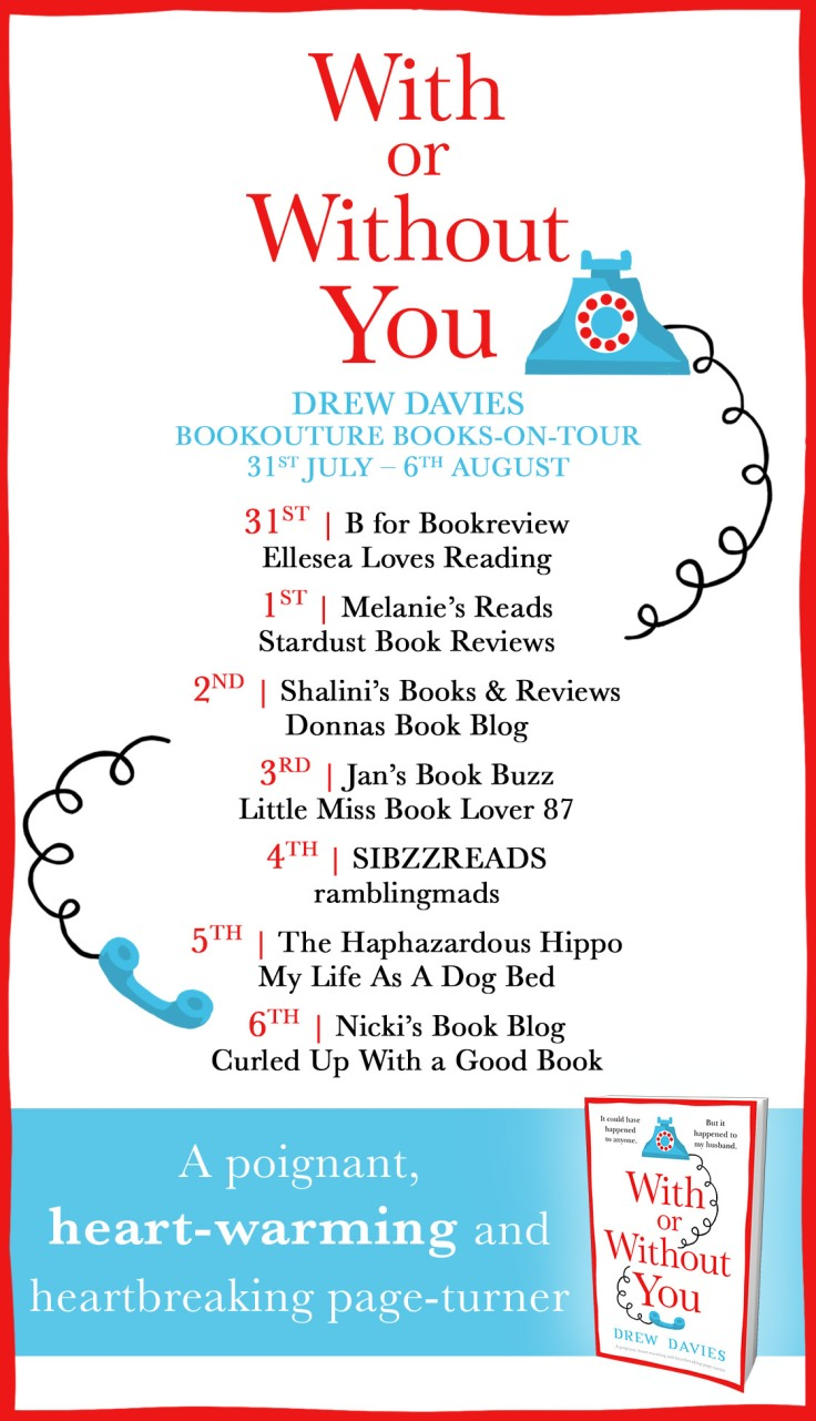 With or Without You - Blog tour (1)